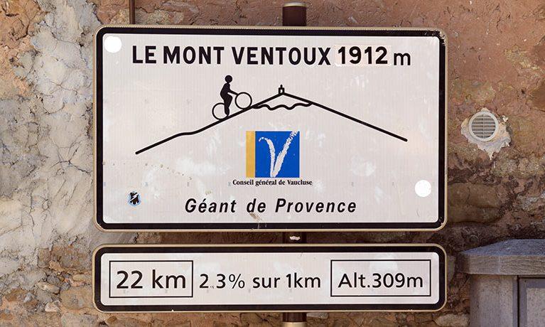 La Provenza e il Mont Ventoux