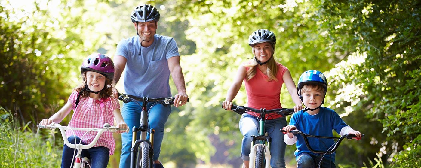 Vacanze in bicicletta per famiglie - Bikexperiences